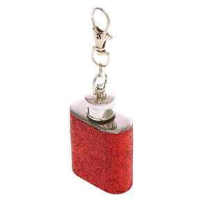 Holiday Flask Keychain,