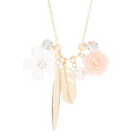 Daisy Charm Necklace,