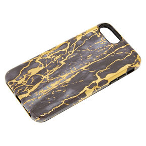 Cracked Marble Protective Phone Case,