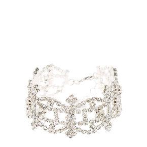 Royal Crosses Faux Diamond Bracelet,