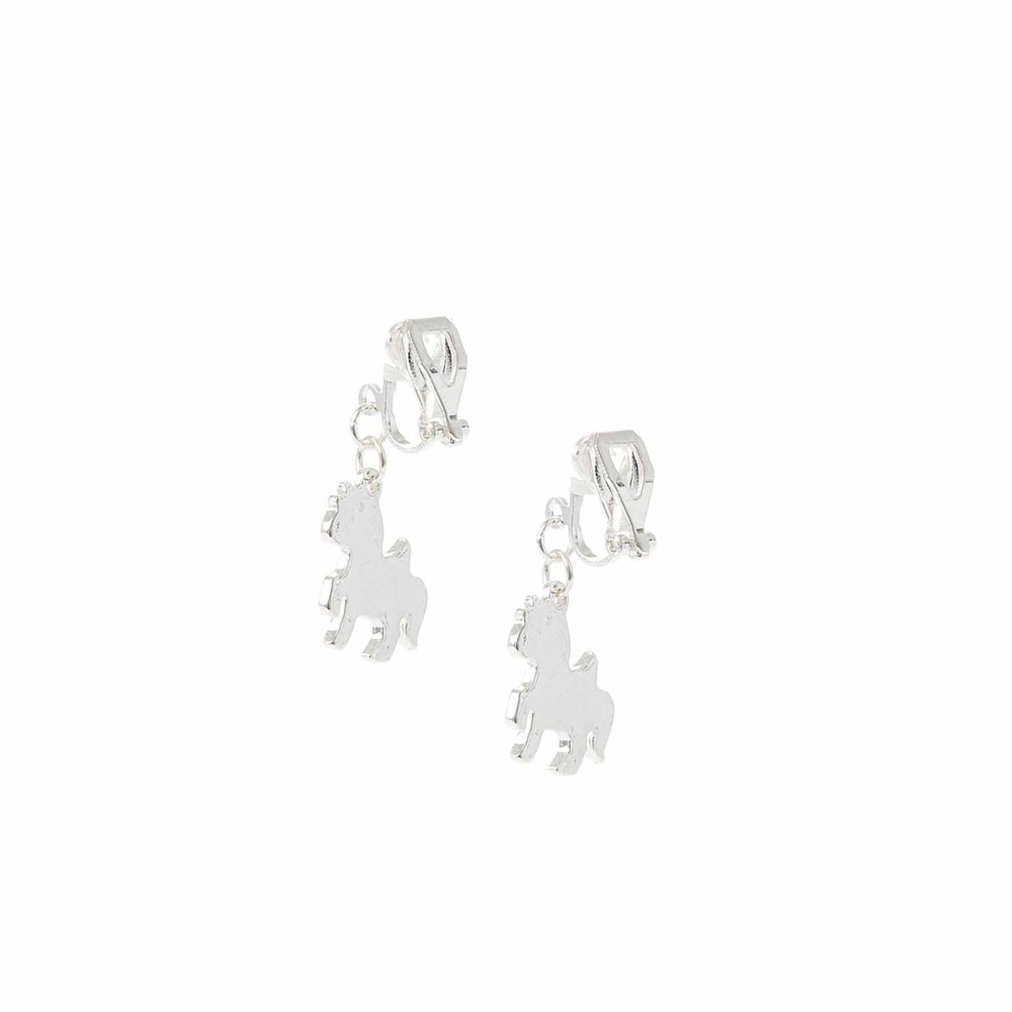 Magical Unicorn Clip On Earrings,
