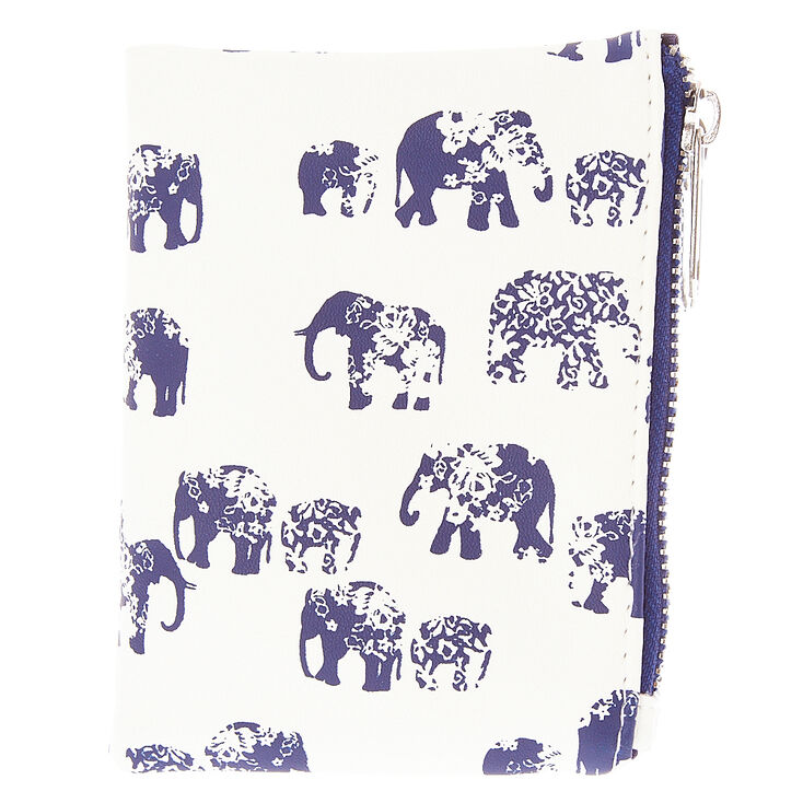 Navy Elephant Boho Wallet at Icing in Victor, NY | Tuggl