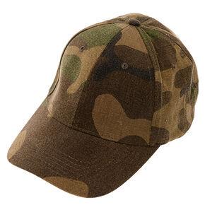 Camo Print Baseball Cap,