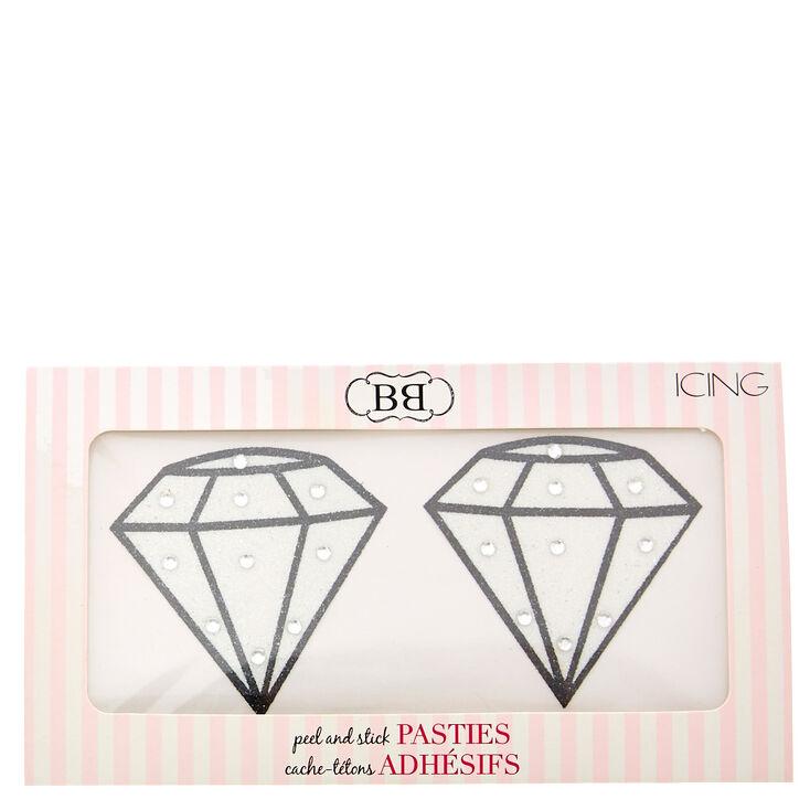 Diamond Peel and Stick Pasties,