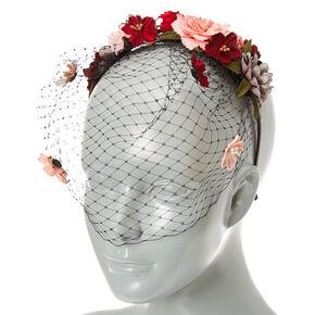 Birdcage Floral Headband,