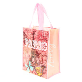 Paris Postcard Small Tote Bag,