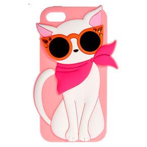 Fashionista Feline Phone Case,