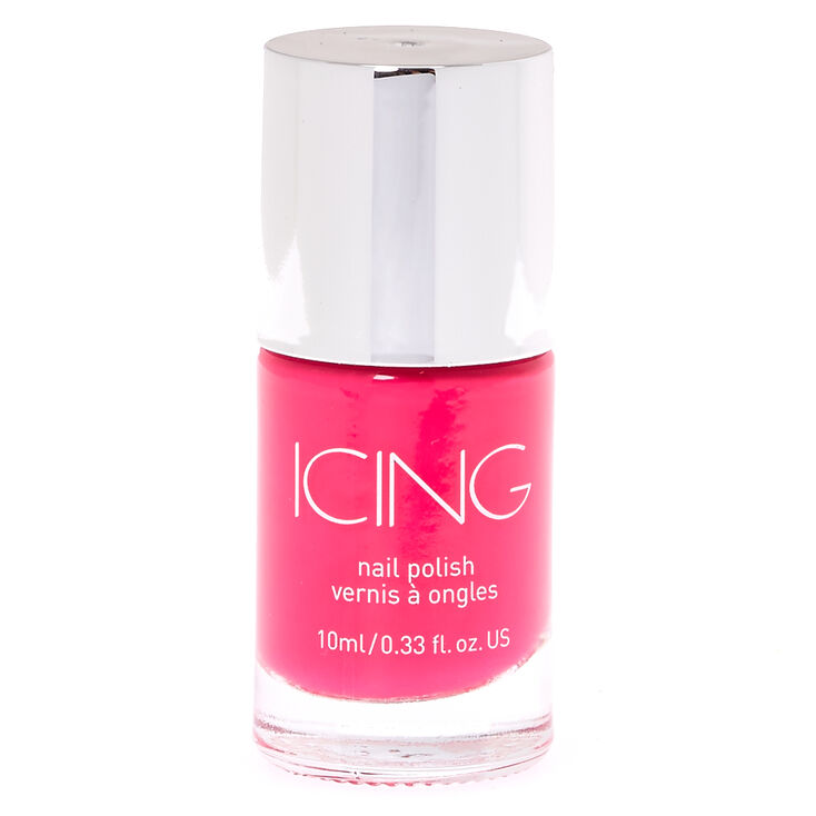 Squad Goals Bright Pink Nail Polish,