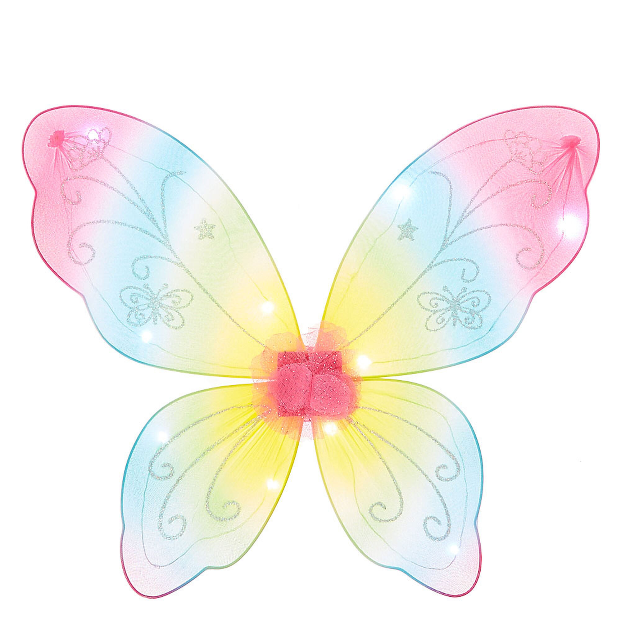kids light up rainbow butterfly wings claire u0027s