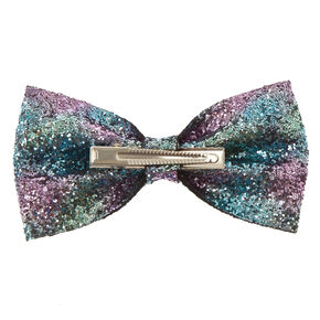 Sequin Space Bow Hair Clip,