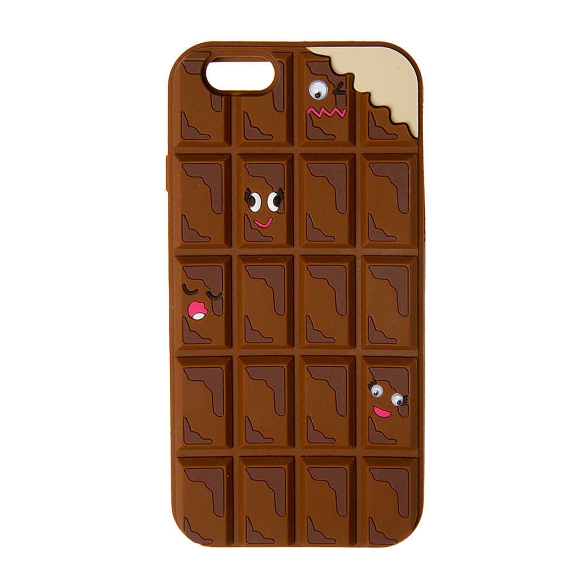 3D Silicone Chocolate Bar Phone Case | Claire's US