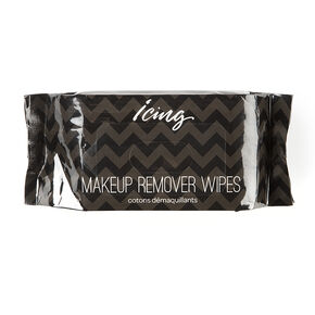 Icing Makeup Remover Wipes in Chevron Striped Pack,