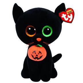 TY Beanie Boos Shadow the Cat Medium Plush Toy,