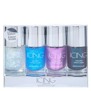 Mermaid Nail Polish 4 Pack,