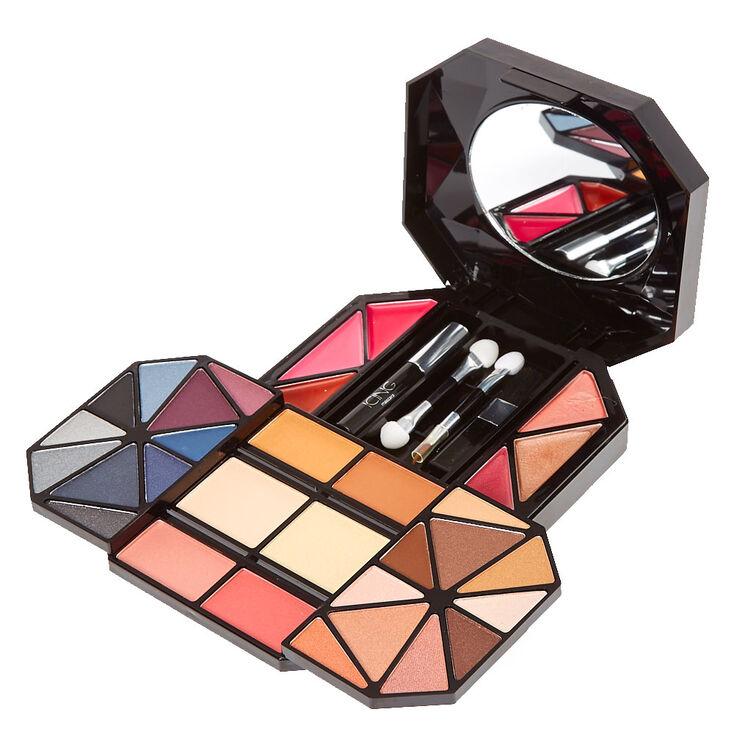 Kiss Kiss Geometric Black Makeup Set,