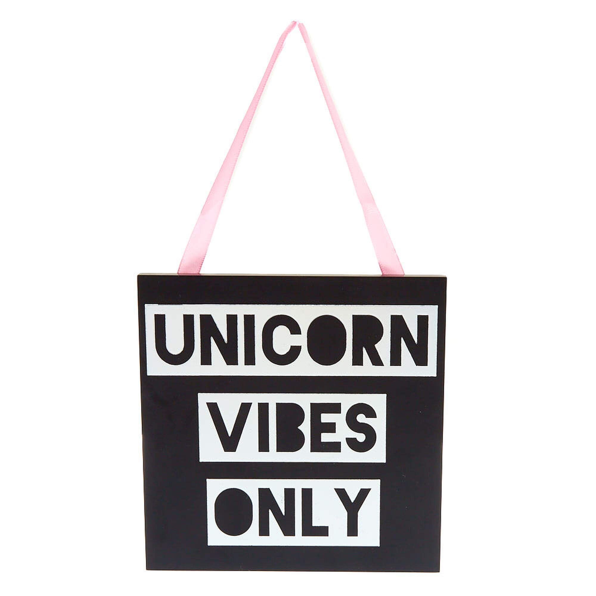 Black Amp Holographic Unicorn Vibes Only Wall D 233 Cor Claire