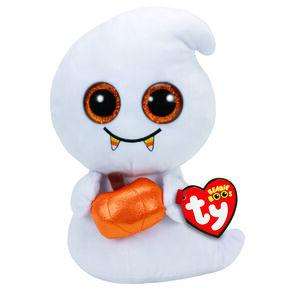 TY Beanie Boos Scream the Ghost Medium Plush Toy,