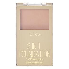 Dark 2 in 1 Wet & Dry Foundation,