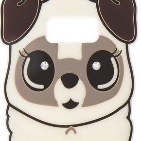 White Silicone Pug Case,