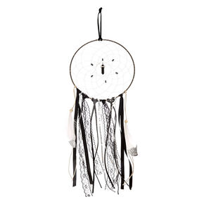 Large Black and White Dreamcatcher,