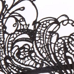 Black Lace Halloween Mask,