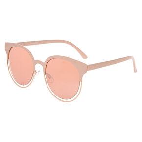 Blush Mod Round Sunglasses,