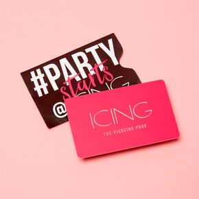 $25.00 USD Icing Signature Gift Card,