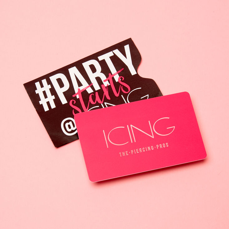 $75 USD Icing Signature Gift Card,
