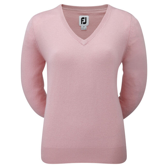 Lambswool V-Neck Pullover Damen