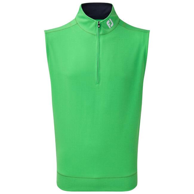 Spun Poly Half-Zip Vest