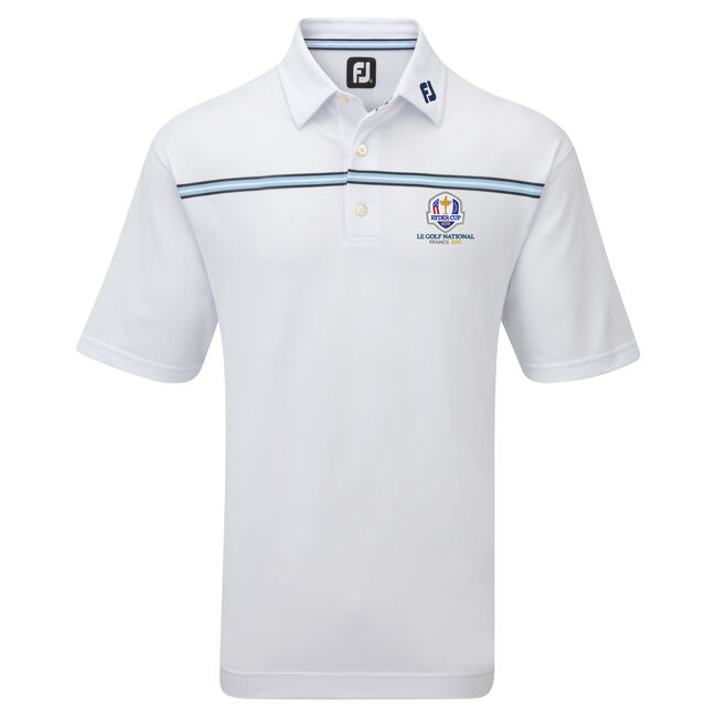 2018 Ryder Cup Pique Chest Stripe
