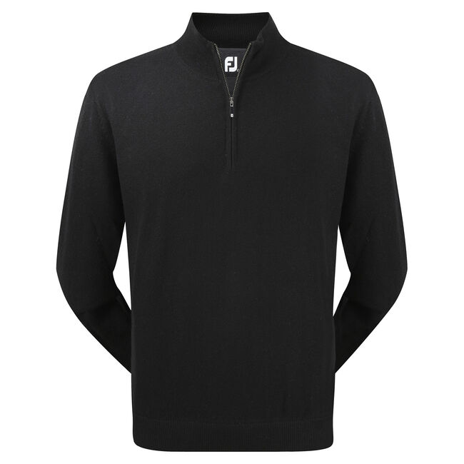 Lambswool Half Zip Pullover