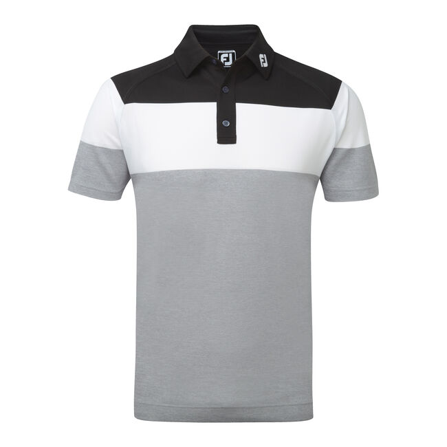 Raglan Chest Stripe Pique