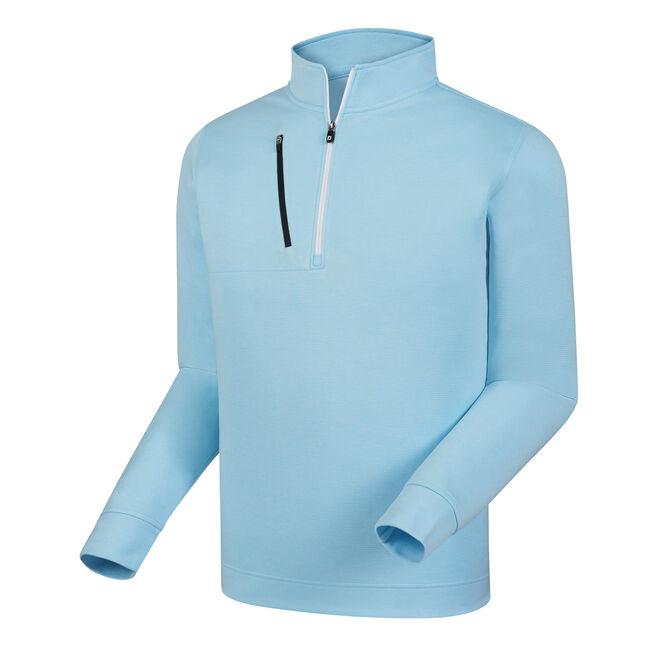 Heather Pinstripe Half-Zip Pullover