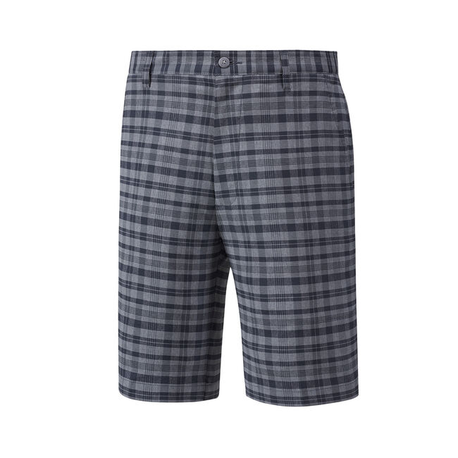 Tonal Plaid Shorts