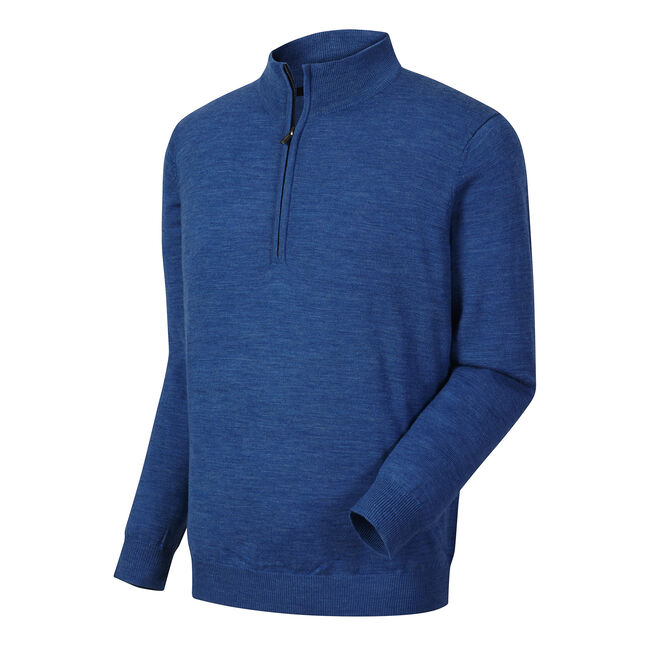 Merino Half-Zip Golf Sweater-Previous Season Style