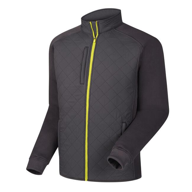 Quilted Fleece Jacket