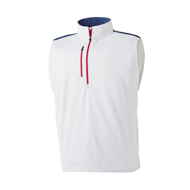 Half-Zip Men's Golf Vest-Previous Season Style