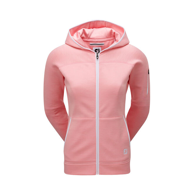 Full-Zip Fleece Hoodie Women