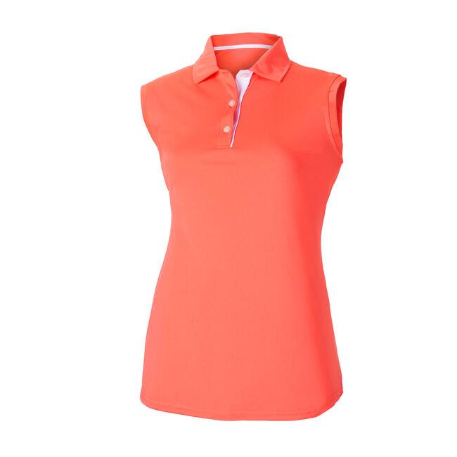 ProDry Interlock Sleeveless Shirt Knit Collar Women