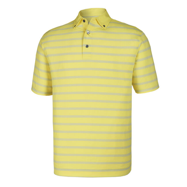Lisle Multi Stripe + Solid Button Down Collar
