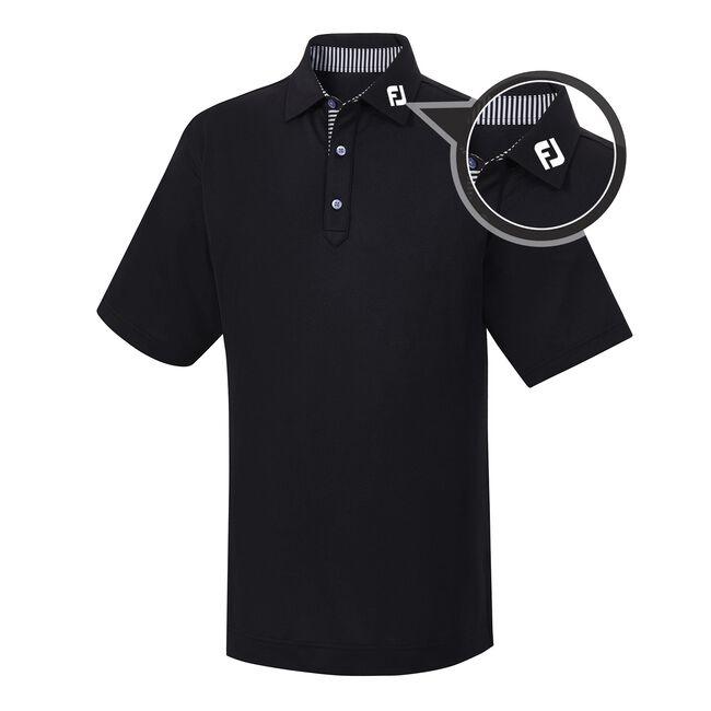 Stretch Pique Self Collar - FJ Tour Logo