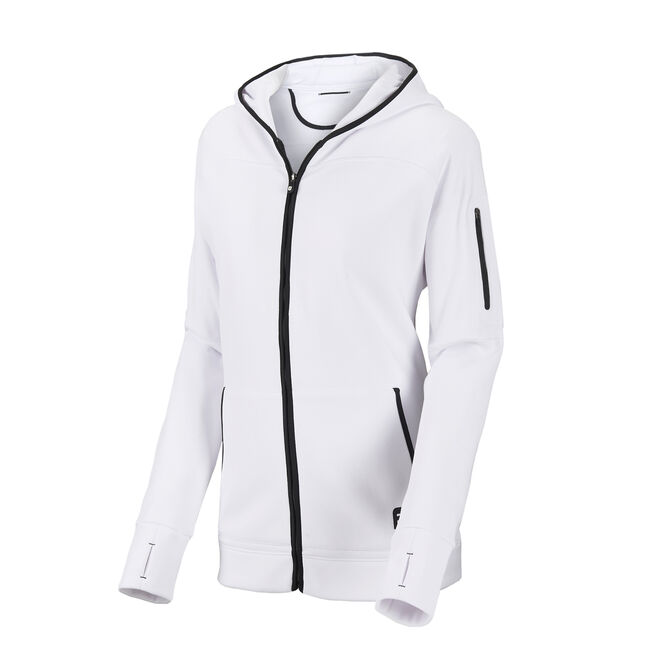 Full-Zip Fleece Hoodie Women