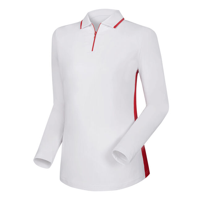 Zip Placket Sun Protection Shirt Women