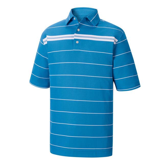 Smooth Pique Chest Stripe Self Collar-Previous Season Style