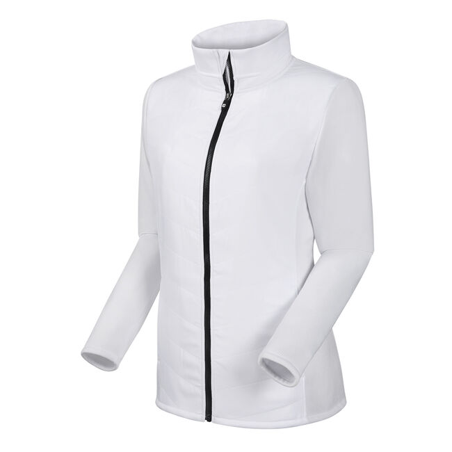 Full-Zip Quilted Hybrid Jacket Women