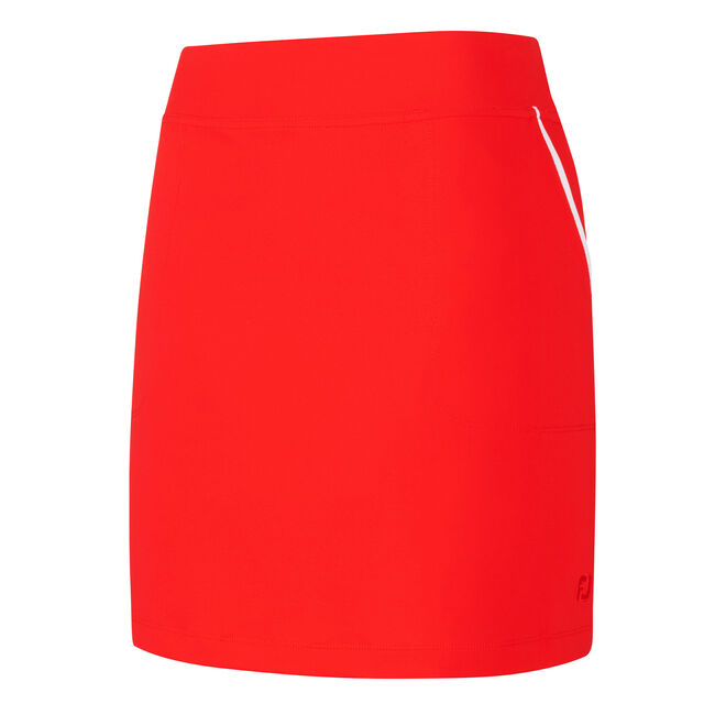 Pocket Trim Knit Skort Women