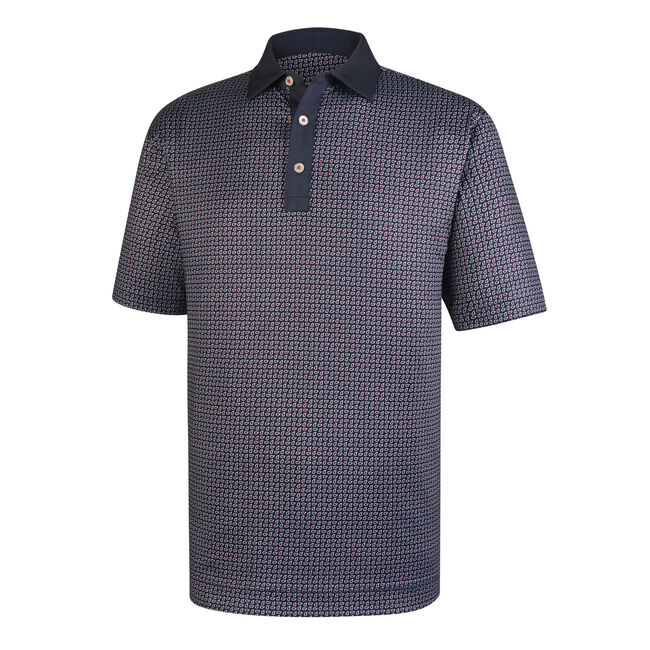 Lisle Paisley Print Self Collar-Previous Season Style