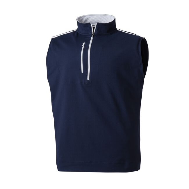 Half-Zip Men's Golf Vest-Previous Season Style