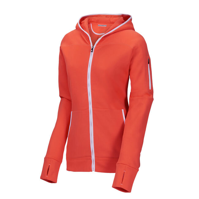 Full-Zip Fleece Hoody Women